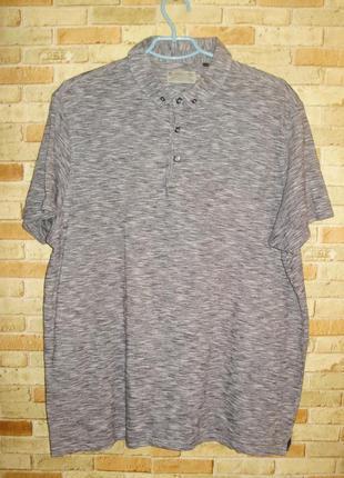 Качественная базовая футболка поло размера xl