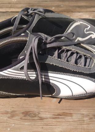 Шикарные кожаные кроссовки puma