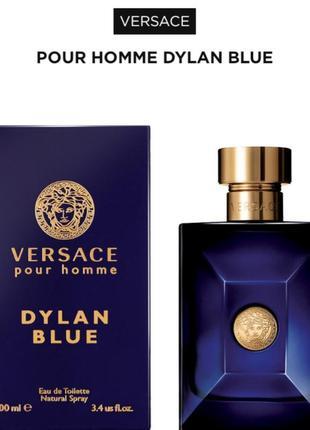 🔥🔥🔥versace pour homme dylan blue  туалетная вода, спрей 50 мл