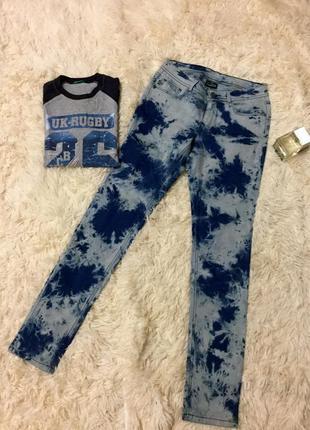 Фирменные крутые джинсы размер 27 crazy world