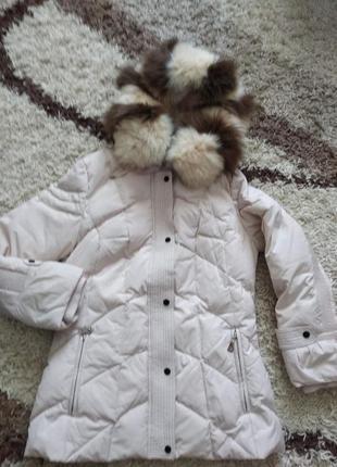 Женская зимняя куртка-пуховик icebear 48 р.