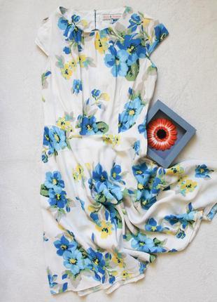 Нежное платье с вырезом на спинке, размер s/m