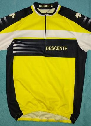 Descente велоджерси футболка спортивная унисекс