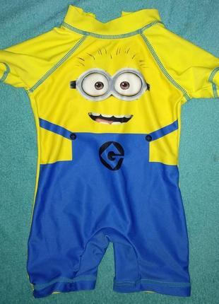 Next миньон детский гидрокостюм солнцезащитный костюм купальны...