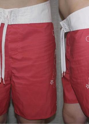 Op ocean pacific пляжные шорты обалденные для плаванья узор цветы