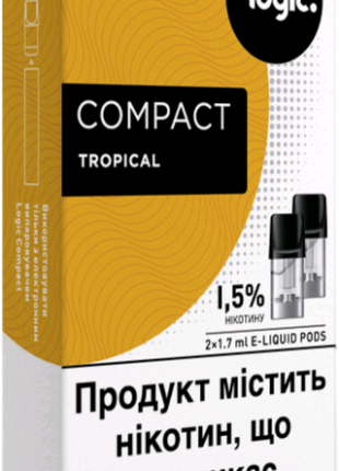 Картриджі Logic Compact Tropical