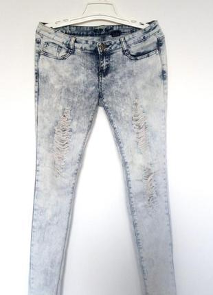 Джинсы скинни. варенки, рванные джинсы.