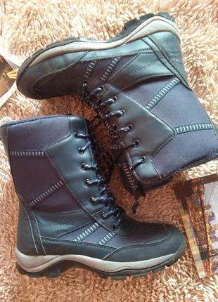 Сапоги ботинки теплые зима 37 р 23 см