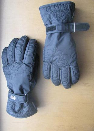Перчатки лыжные женские s-m краги gore-tex