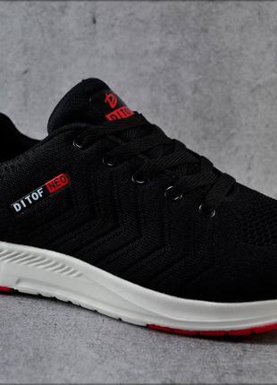 Мужские кроссовки Ditoff BlackxRed, Летняя обувь