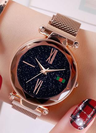 Женские часы Starry Sky Watch с римскими цифрами