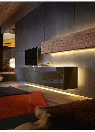 Мебель в гостиную, горки хай-тек, лофт, под заказ.