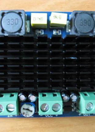 Усилитель звука 100вт моно DC 12в для сабвуфера