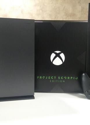 Заряженный Xbox ONE X 1TB Project Scorpio Edition