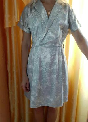 Платье стильное летнее с рукавом реглан