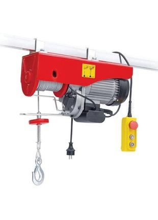 Тельфер (лебедка электрическая) Intertool - 500/999 кг x 6/12 м