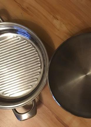 Сковорода Zepter Гриль и крышка с термоконтроллером.