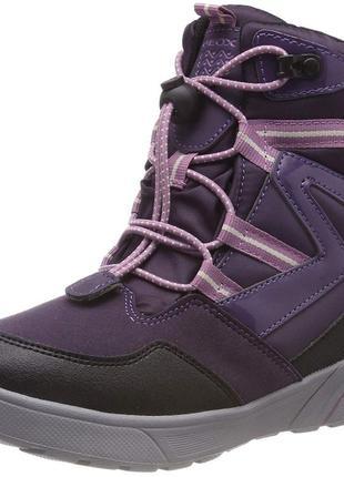 Geox sveggen зимние ботинки для девочки. размер 35. италия