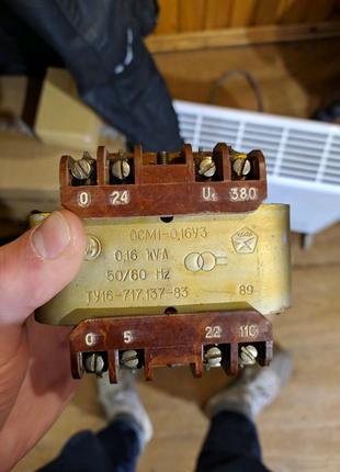 Продам трансформатор понижающий ОСМ 1 0.16УЗ