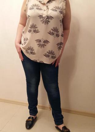 Фирменная блуза большой размер next