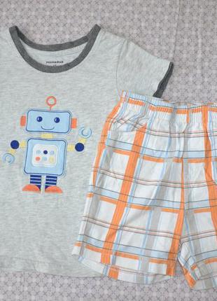 Летний комплект футболка шорты р98, на 3-4г.