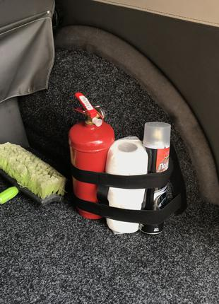 Карманы-органайзеры на липучках в багажник автомобиля.