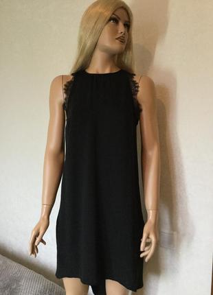 Платье с французским кружевом h&m размер м