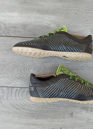 Adidas футбольные кроссовки сороконожки оригинад