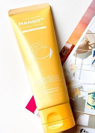 🥭шампунь с экстрактом манго для сухих волос evas pedison  mango