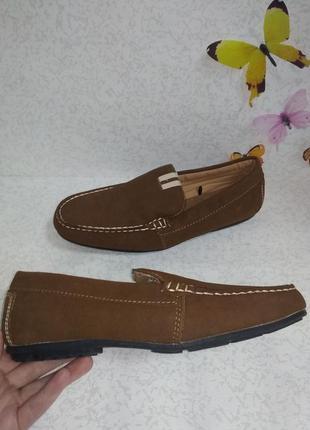 Мужские лоферы туфли livergy (ливеджи) 42р. стелька 27,5 см