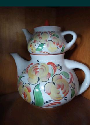 Новые заварочные чайники. Подарочный набор.