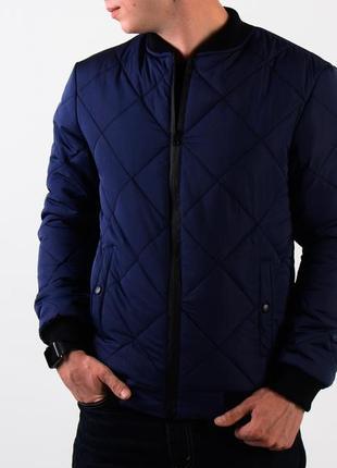 Мужская стеганная куртка весна осень