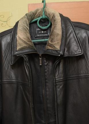 Мужская кожаная куртка, куртка из натуральной кожи с европы