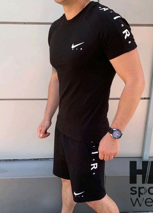 Костюм Nike (шорты+футболка)