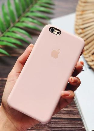 Силіконовий чохол apple silicone case для iphone