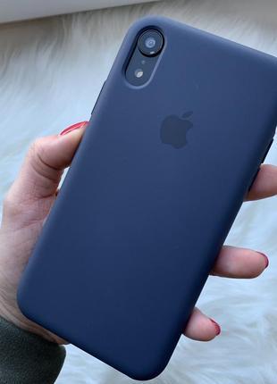 Чехол silicone case для iphone 7 plus/8 plus cosmos blue