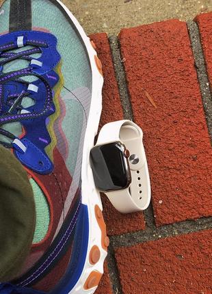 Ремешок для часов apple watch sport band силиконовый