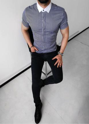 Рубашка мужская английского стиля