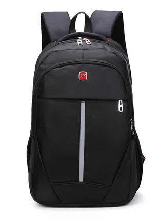 Мужской рюкзак DengSiya 8896, черный для школы, учебы, работы