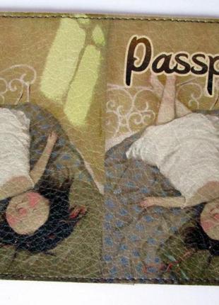 Обложка на паспорт блокнот чехол айди права подарок комплимент...