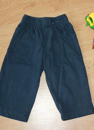 Штаны штанишки спортивные бруки брючки 9-18 мес