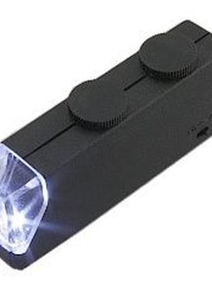 Микроскоп ручной MG10081 [x60-100, LED-подсветка