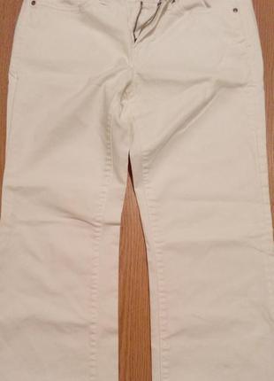 Фірмові білосніжні джинси gap