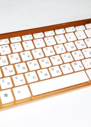 Беспроводная клавиатура и мышь 902 (под Apple)