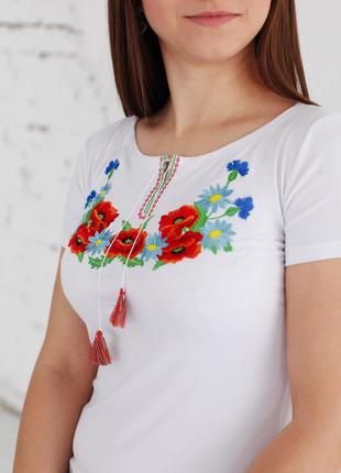 Вышиванка футболка женская, вишиванка жіноча