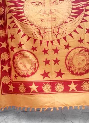 Этно покрывало солнце и луна эзотерика индия