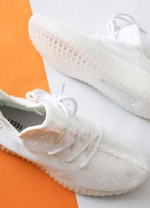 Женские лёгенькие adidas yeezy boost 350 white .