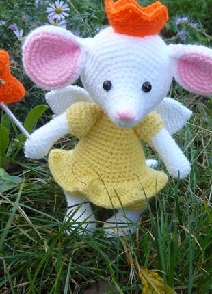 Мягкая игрушка Мышка-фея