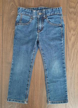 Модные джинсы benetton skinny на 3 года 100р.