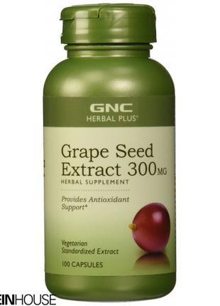 GNC Grape Seed Extract 300 mg 100 капсул (Виноградные косточки)